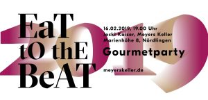Ticket eat to the beat 2019 bei Jockl Kaiser