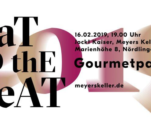Ticket eat to the beat 2019 bei Jockl Kaiser