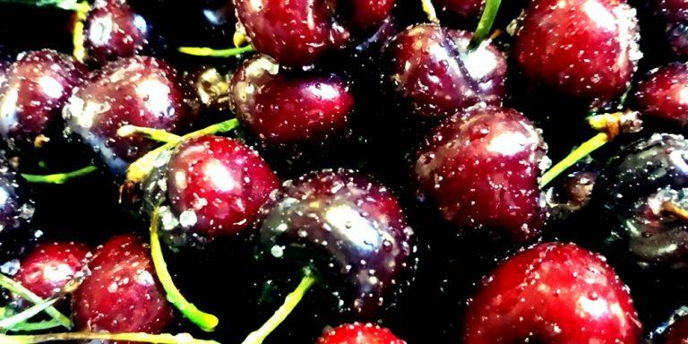 Kirschen gesalzen Meyers Keller Sternerestaurant