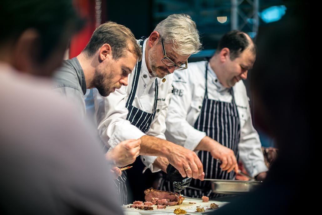 Markus Werner bei Albers Food mit Jockl Kaiser