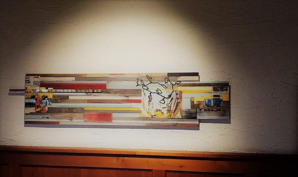 Kunst auf dem Meyers Keller   eine Ausstellung von Helmut Ranftl