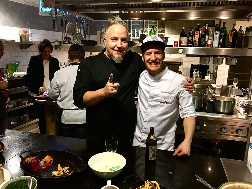 Christoph Brand und Flroian Lerche bei eat to the beat