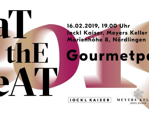 eat to the beat - Gourmetparty - Ticket Bild von Jockl Kaiser, Meyers Keller