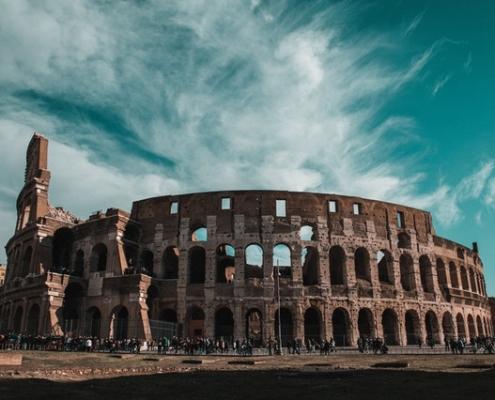 Bild von Rom für die Lesung Ralf Lehmann bei Jockl Kaiser