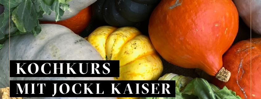 Herbst Kochkurs Bild mit Herbsgemüse und Jockl Kaiser