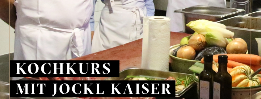 Wildkochkurs Bild von Jockl KAiser in der Küche