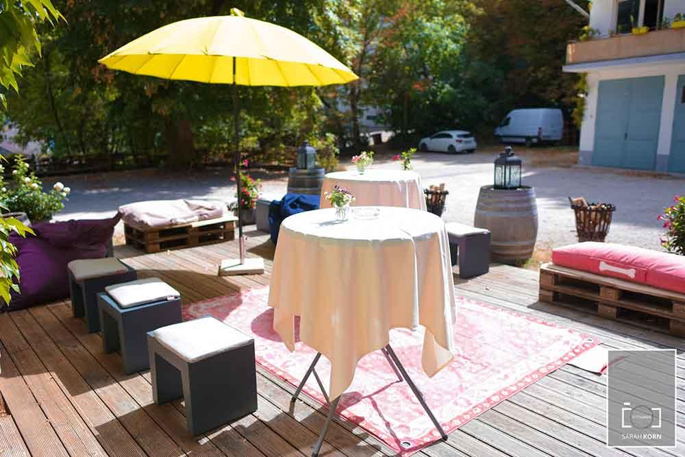 Feiern im Garten Meyers Keller