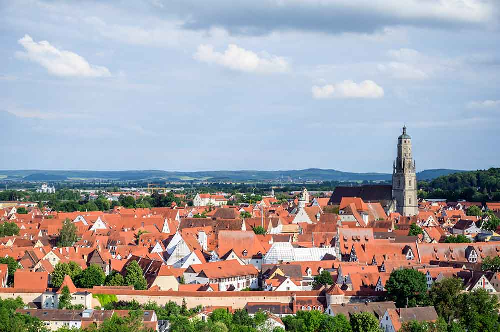 Bild der Stadt Nördlingen