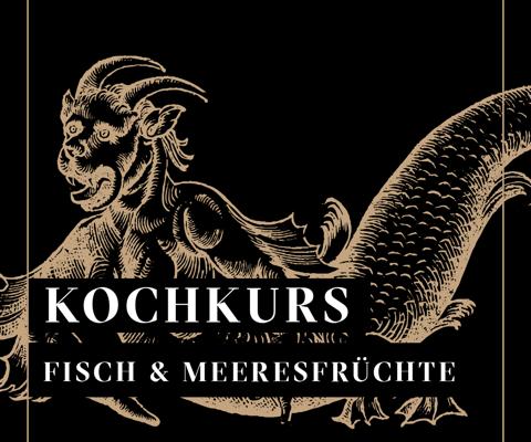 Grafik Neptun für Fischkochkurs mit Jockl Kaiser