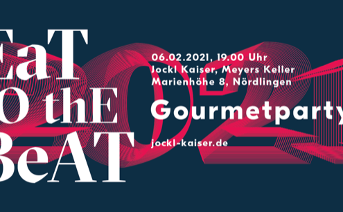 Ticket eat to the beat Gourmetparty