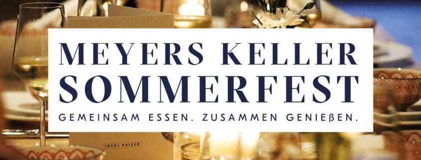 Jockl Kaiser Restaurant Meyers Keller Ticket für Sommerfest