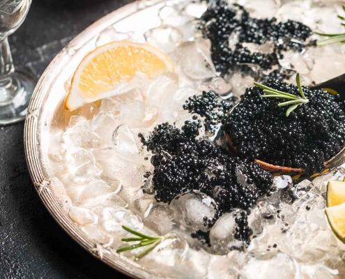 Kaviar auf Eis kulinarische Matinée Jockl Kaiser