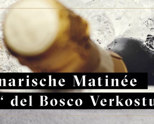 Ca'del Bosco Spumante in Weinkühler