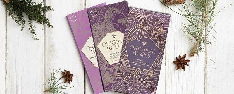 Schokoladentfeln von Original Beans JRE