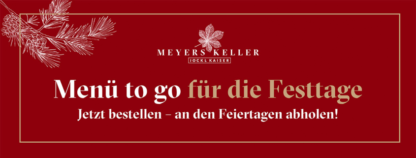 TO GO Menü Weihnachten Jockl Kaiser