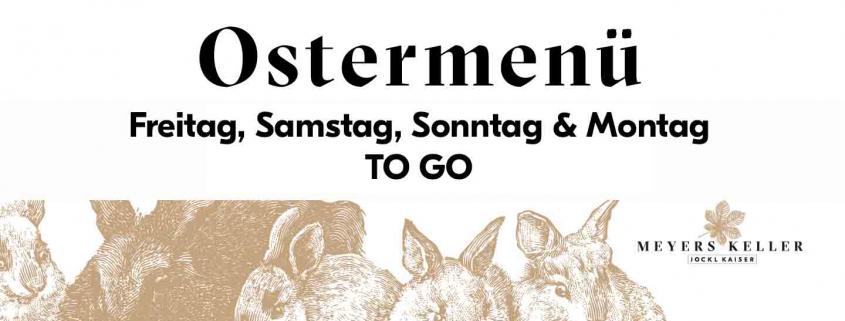 Ostermenü TO GO Jockl Kaiser