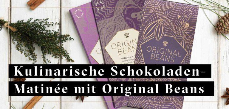 17. Oktober: Kulinarische Schokoladen-Matinée mit Original Beans